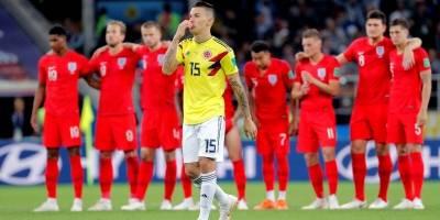Colombia vs Inglaterra: Dos fallos bastaron para despedir a Colombia del Mundial Rusia 2018