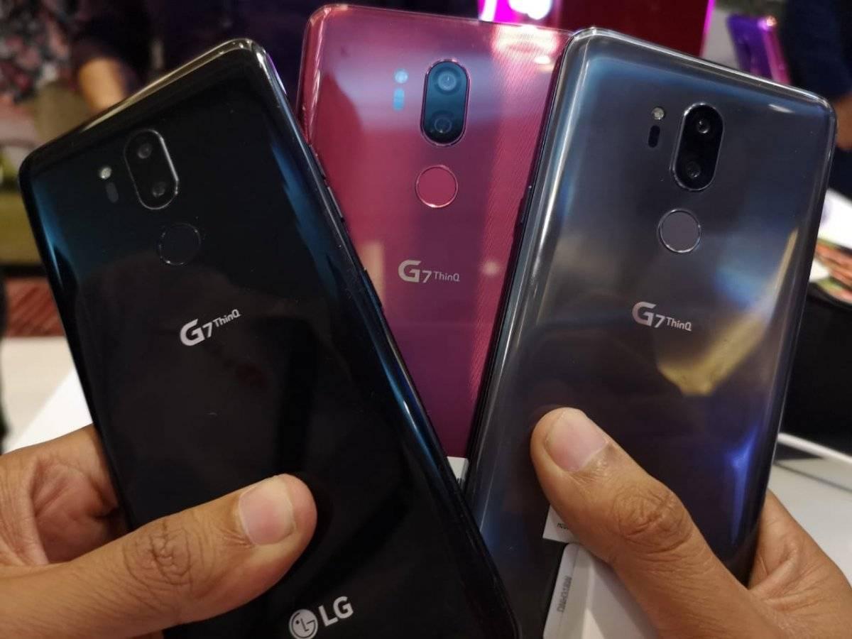 Colores LG G7