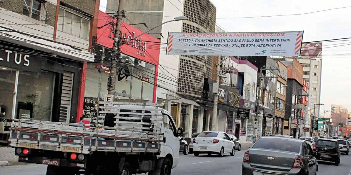 São Bernardo cancela bloqueio de acesso à Anchieta