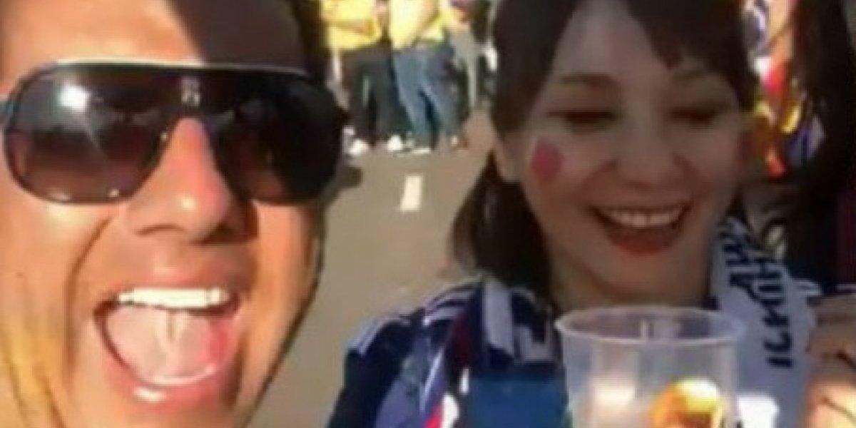 VIDEO. Emotivo momento en que fan japonesa perdona a colombiano que la ofendió