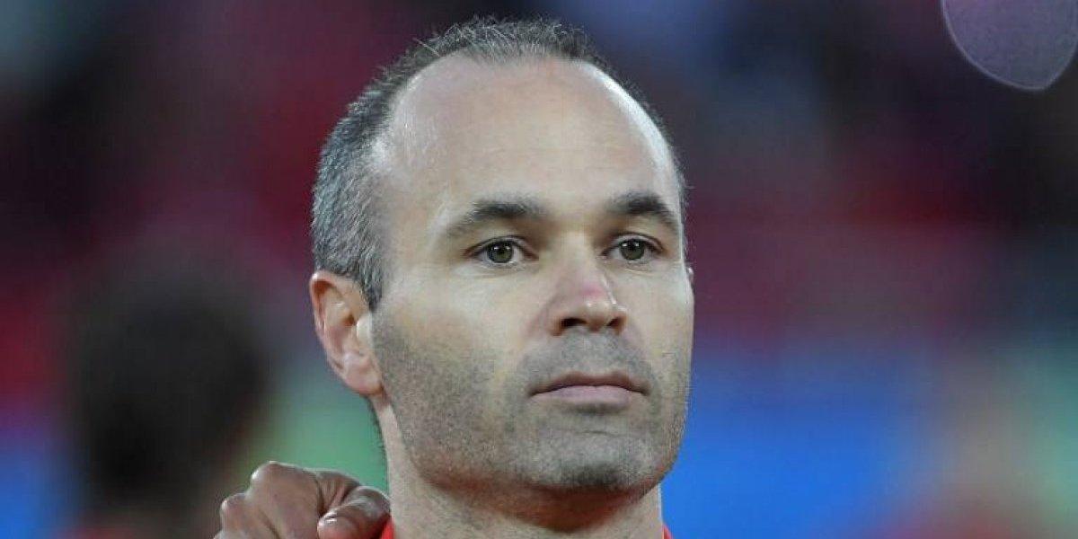 La emotiva carta con la que Iniesta se despide de la selección española