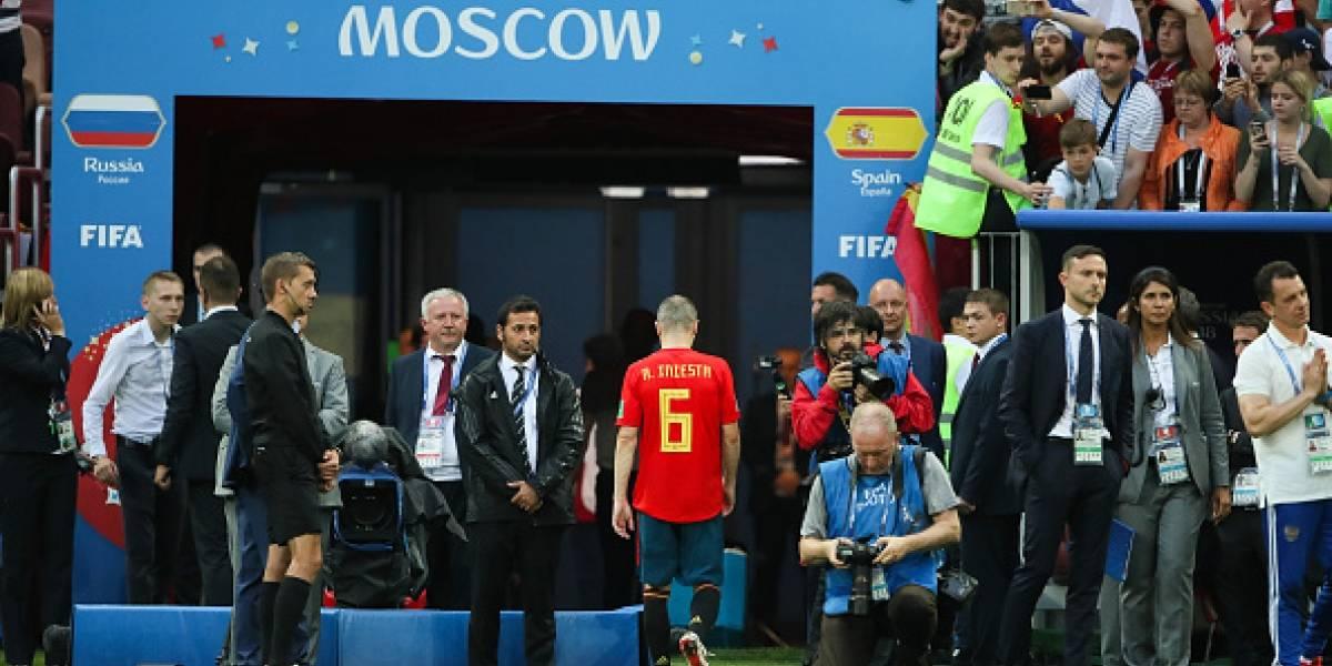"""Andrés Iniesta se despide de la selección de España: """"¡Siempre con la ROJA!"""""""