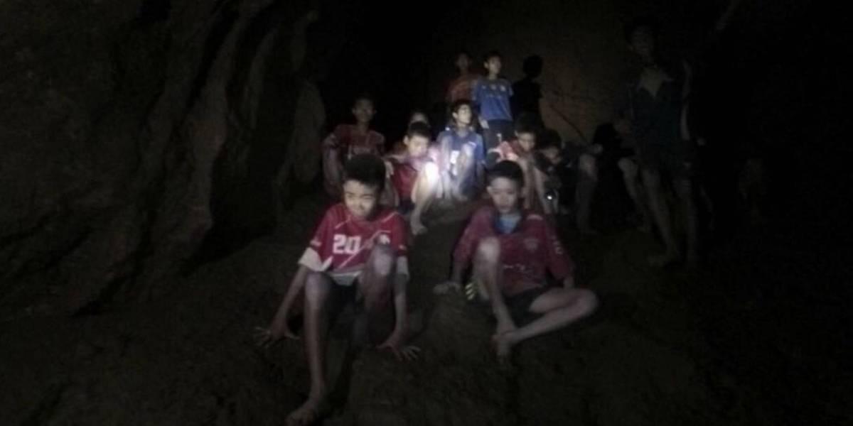 El rescate de los niños atrapados en cueva de Tailandia puede tardar meses