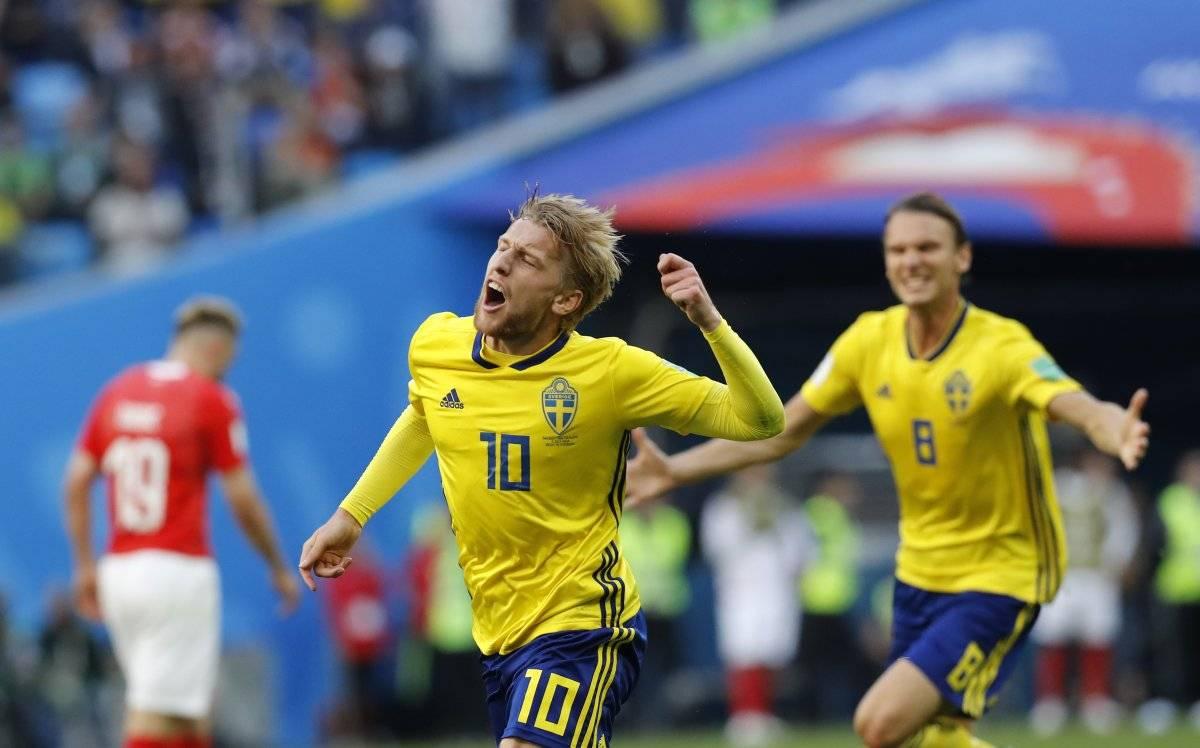 Suecia vs Suiza: Suecia se suma a los cuartos de final ganando con la mínima AP