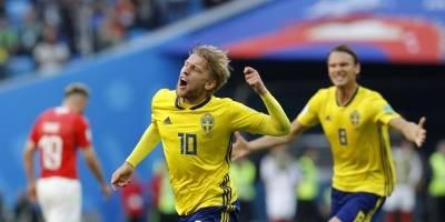 Suecia vs Suiza: Suecia se suma a los cuartos de final ganando con la mínima