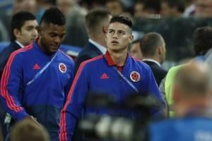 Colombia vs. Inglaterra: Así vive James Rodríguez el partido en Moscú, Rusia