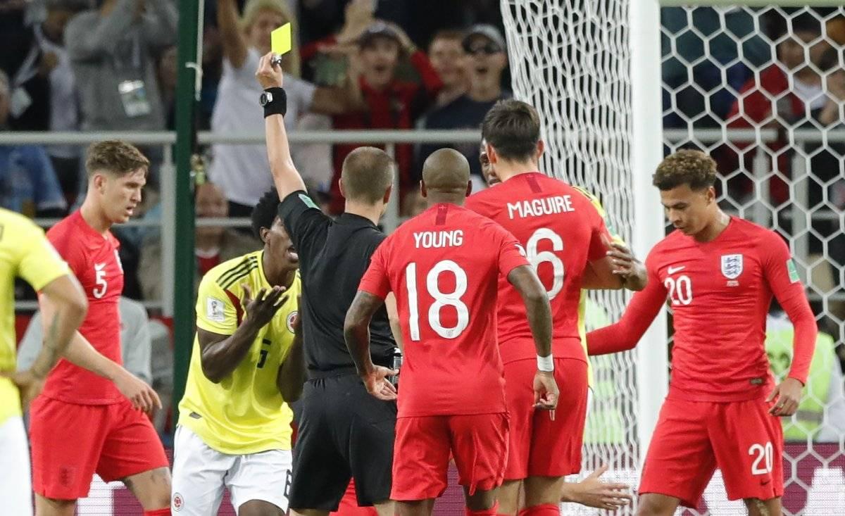 Este sería el error de Mark Geiger, el árbitro, que le habría quitado el triunfo a Colombia AP