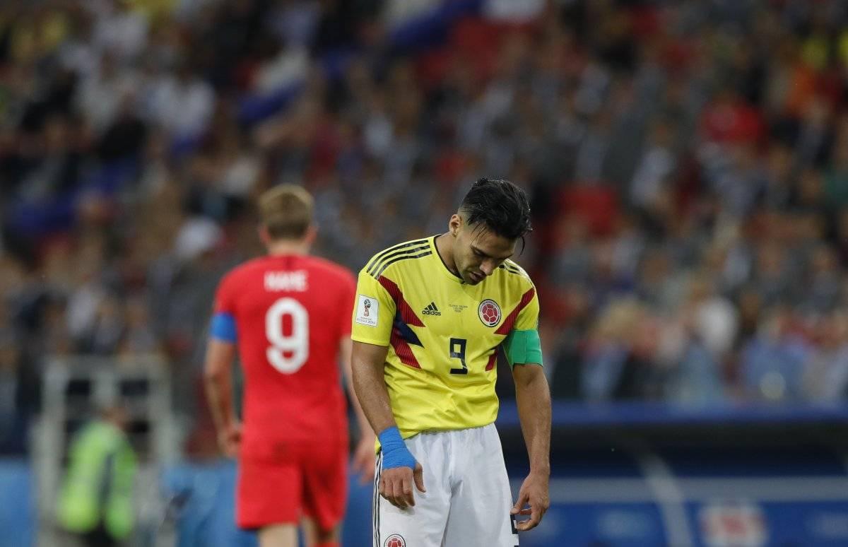 Colombia vs Inglaterra en los octavos de final del Mundial Rusia 2018 AP