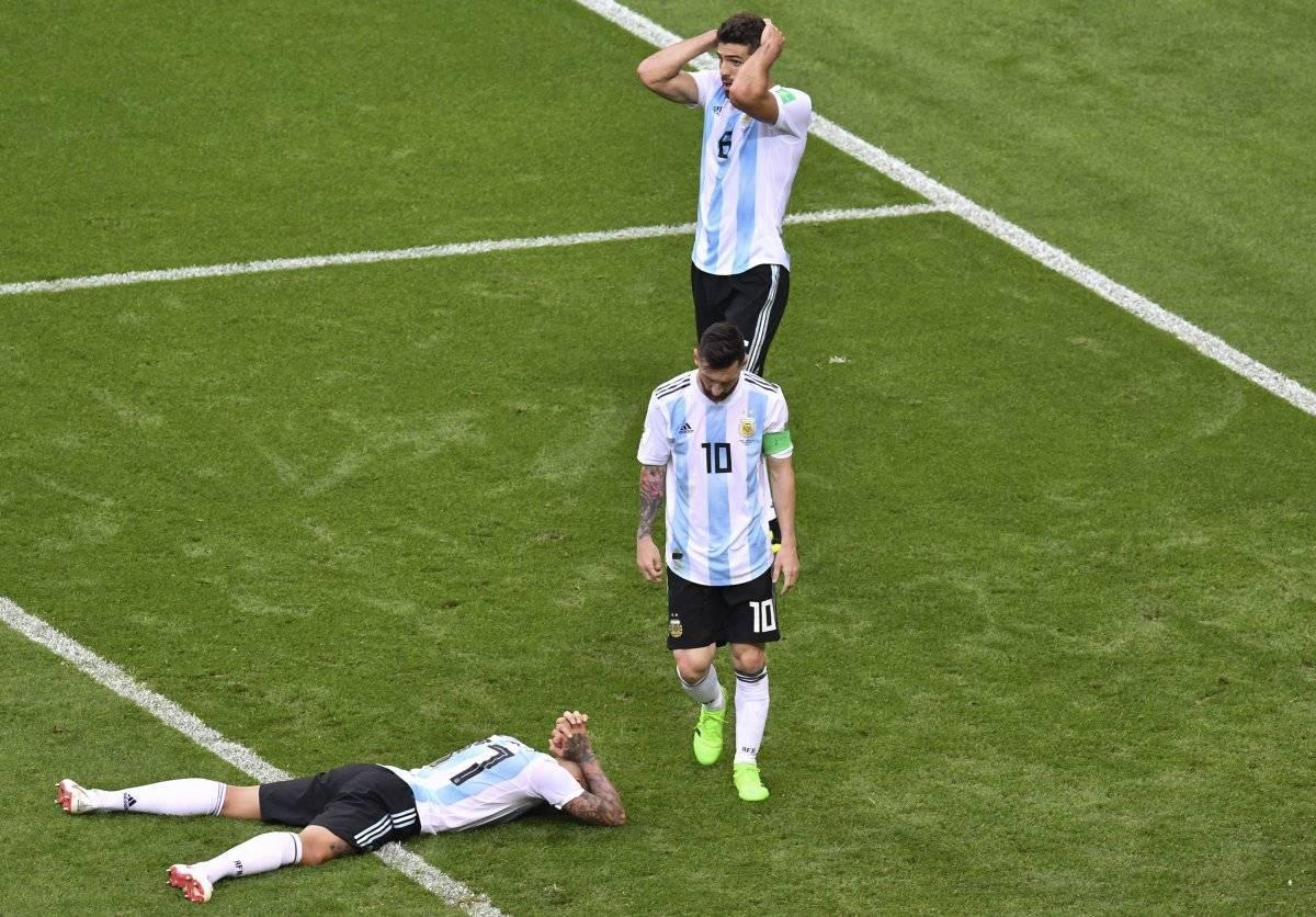 Argentina fue eliminada por Francia