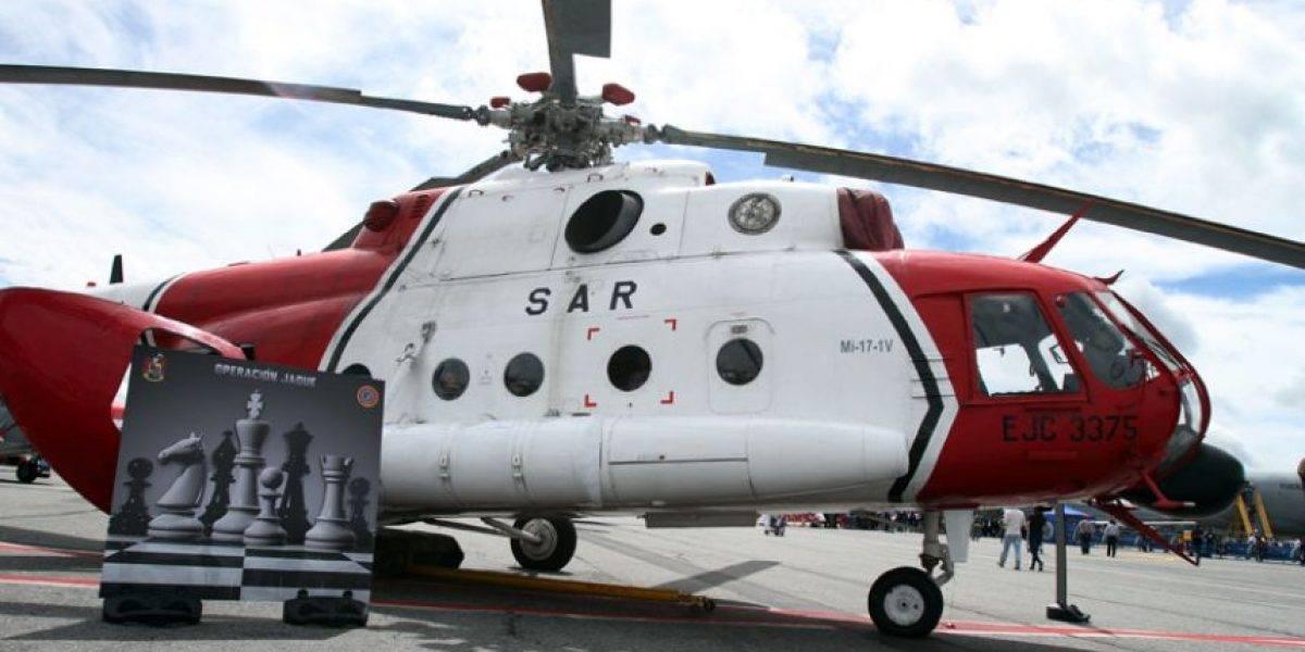 Helicóptero pintado