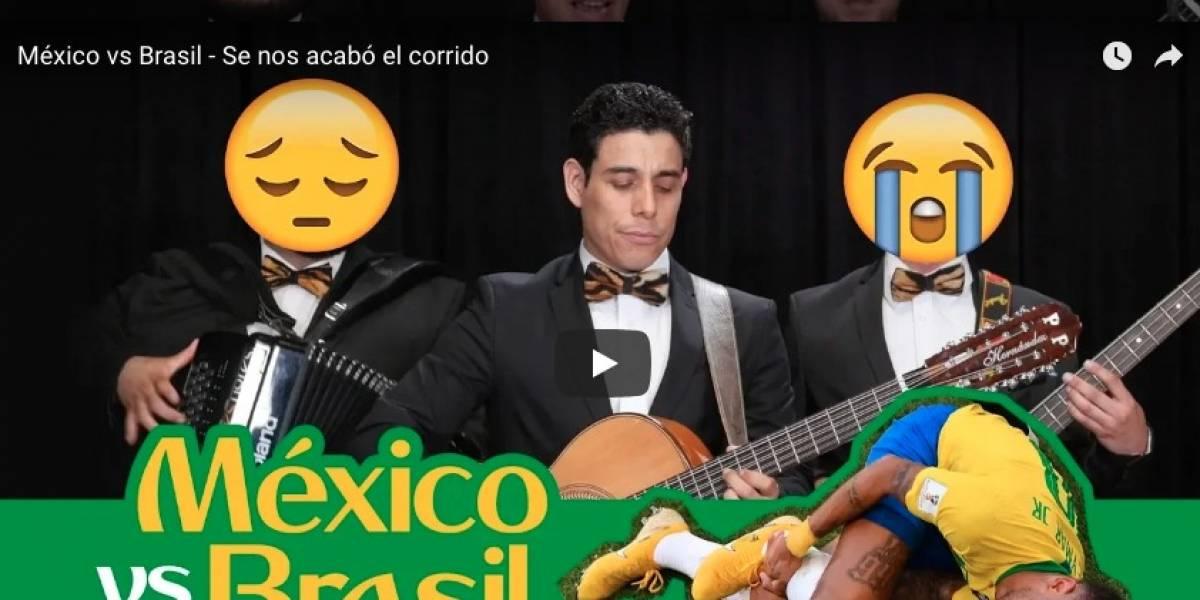 VIDEO: Componen corrido al fracaso de la Selección Mexicana en Rusia