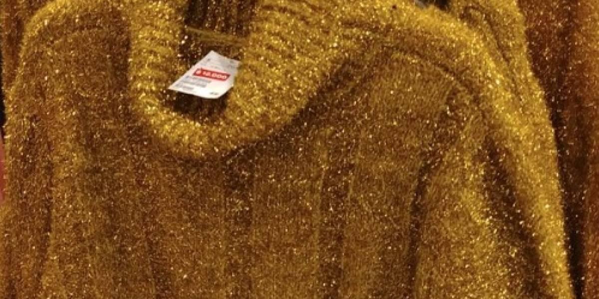 """""""En oferta los cosplay de virutilla de cocina"""": la foto de un chaleco que se transformó en viral y desató épicos comentarios en Twitter"""