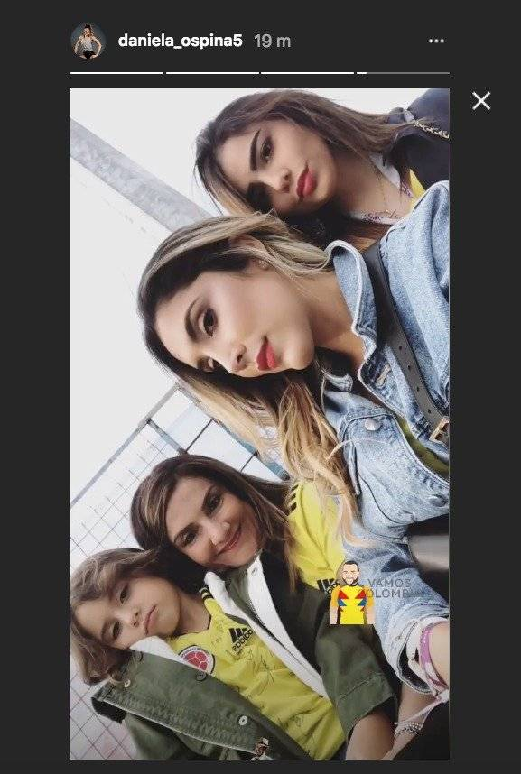 Instagram Daniela Ospina