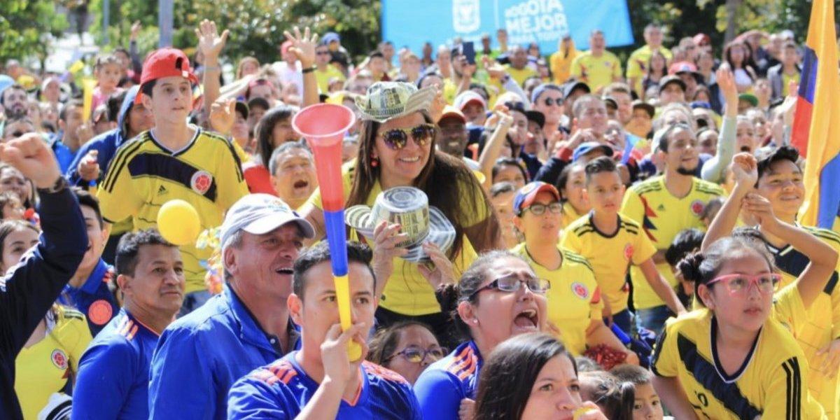 Siga en vivo el regreso y recibimiento de la Selección Colombia en Bogotá