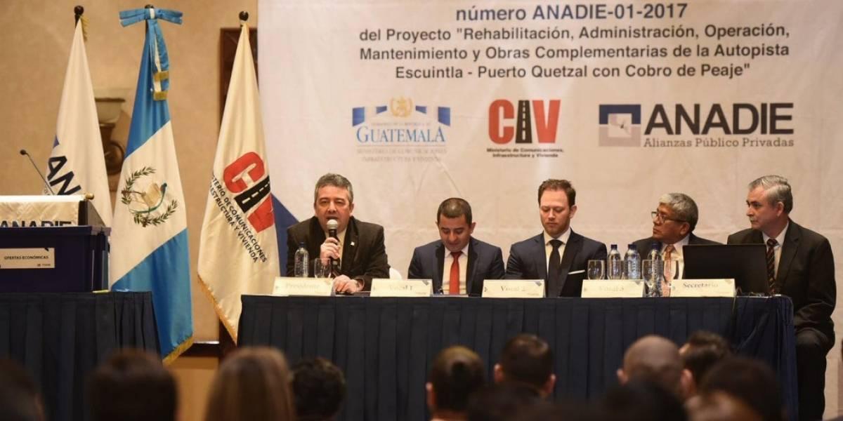Empresa ofrece siete veces más de la propuesta para construir autopista