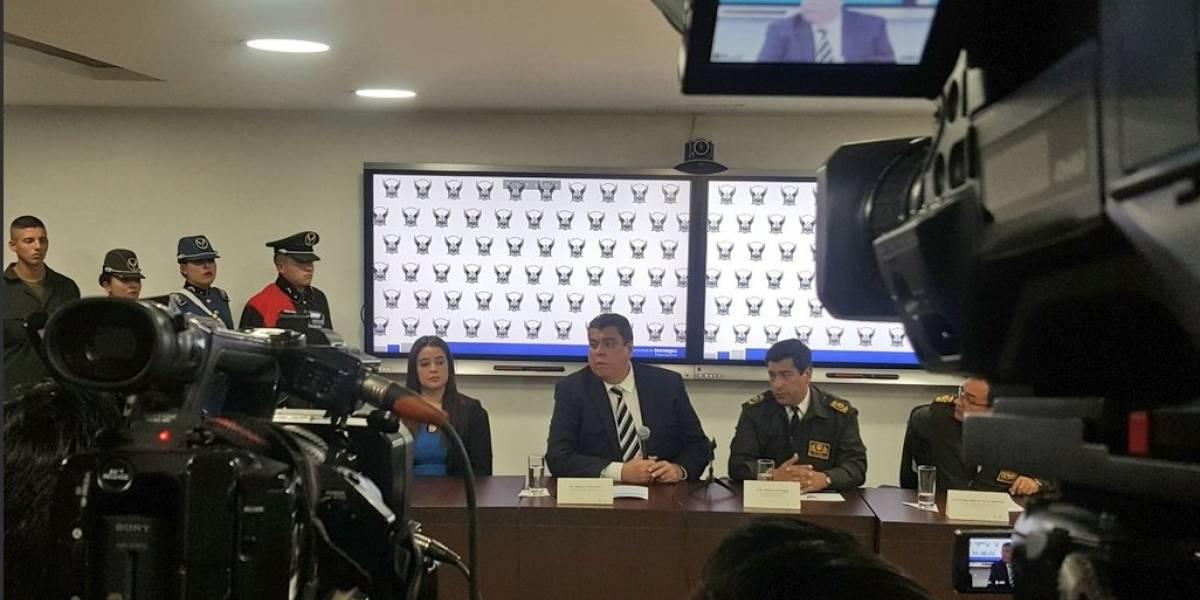 Ministro de Interior descarta vínculo de 'Guacho' con el secuestro de la niña en Sucumbíos