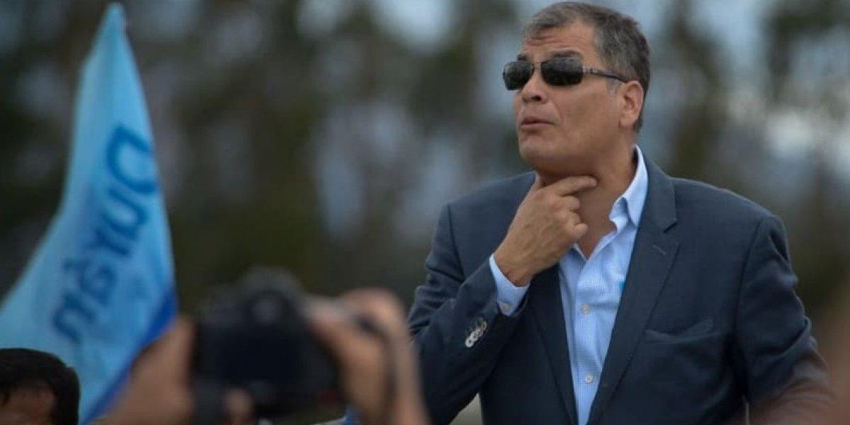 El hombre más buscado de Ecuador — Rafael Correa