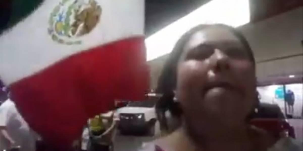 'Lady champagne' podría ser expulsada de Morena de BCS