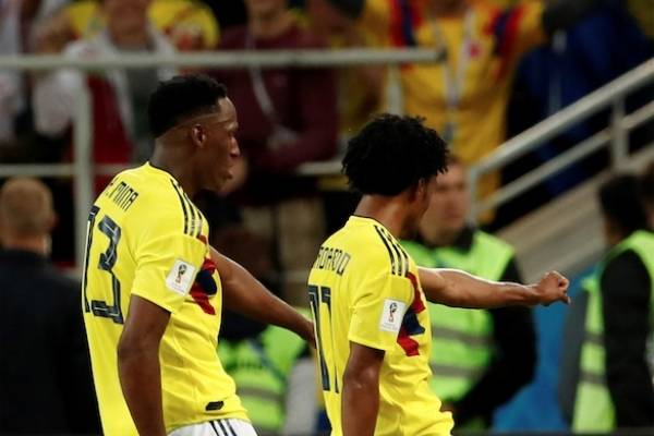 Video del gol de Yerry Mina a Inglaterra