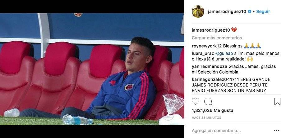 James Rodríguez Instagram