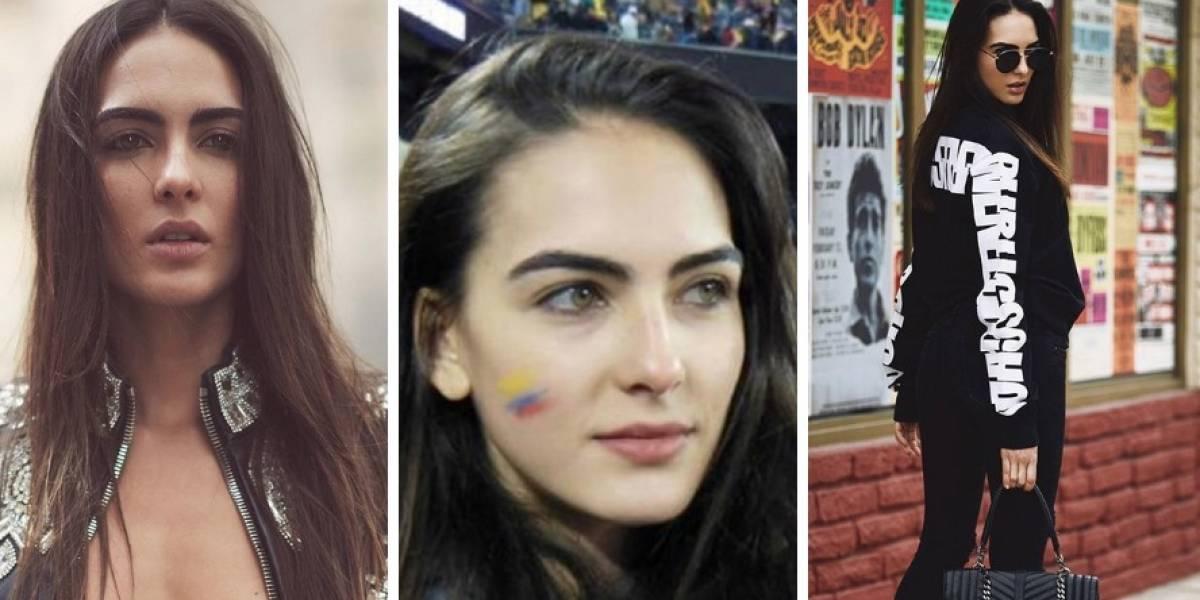 Ella es la infartante colombiana que se roba las miradas en Rusia 2018
