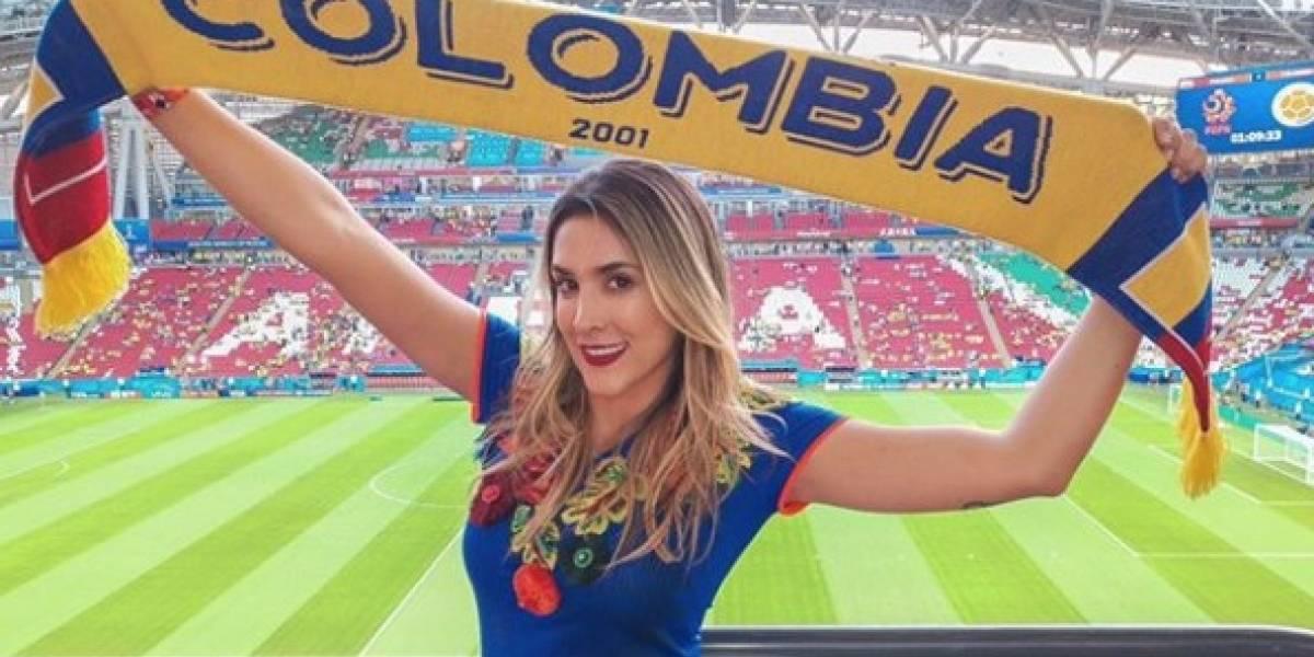 El mensaje de Daniela Ospina para Mark Geiger, árbitro de Colombia vs. Inglaterra