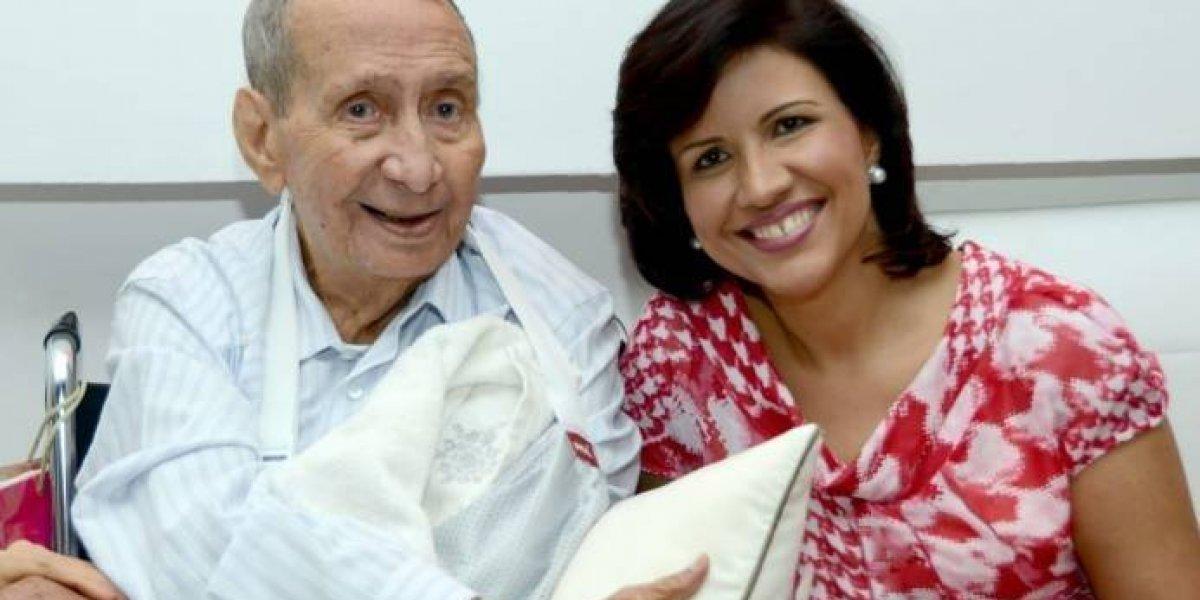 Muere a los 92 años el padre de la vicepresidenta Margarita Cedeño