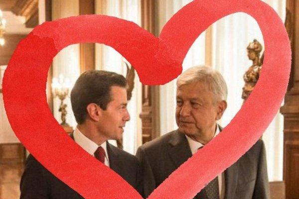Los memes de Peña Nieto y López Obrador