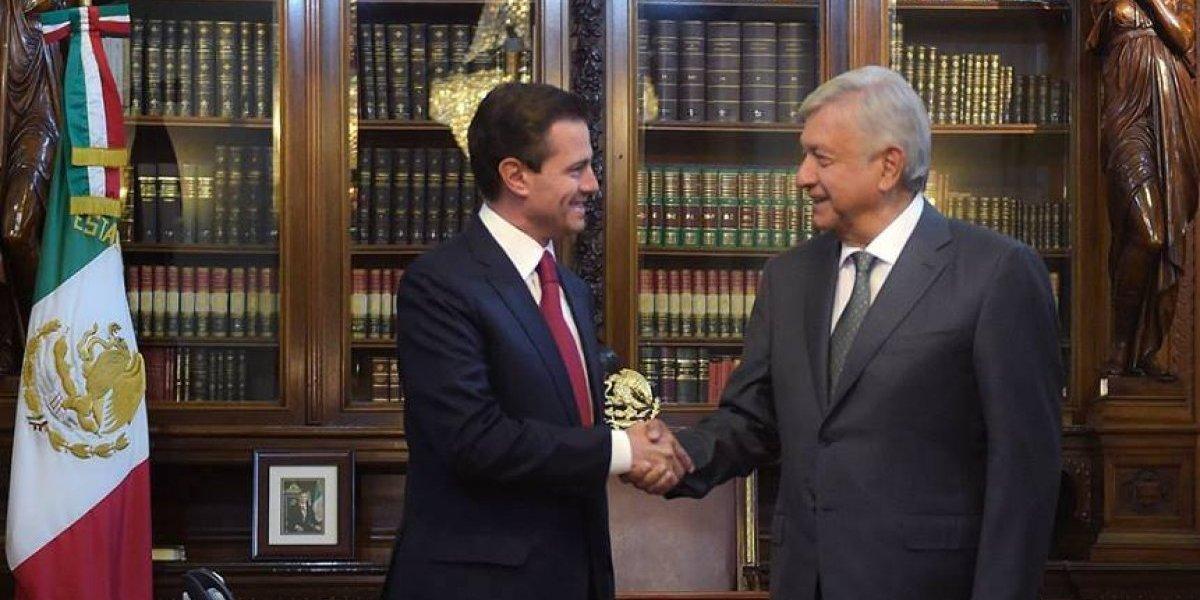 Peña Nieto pide transición ordenada y eficiente a López Obrador