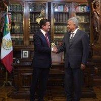 Peña Nieto con López Obrador