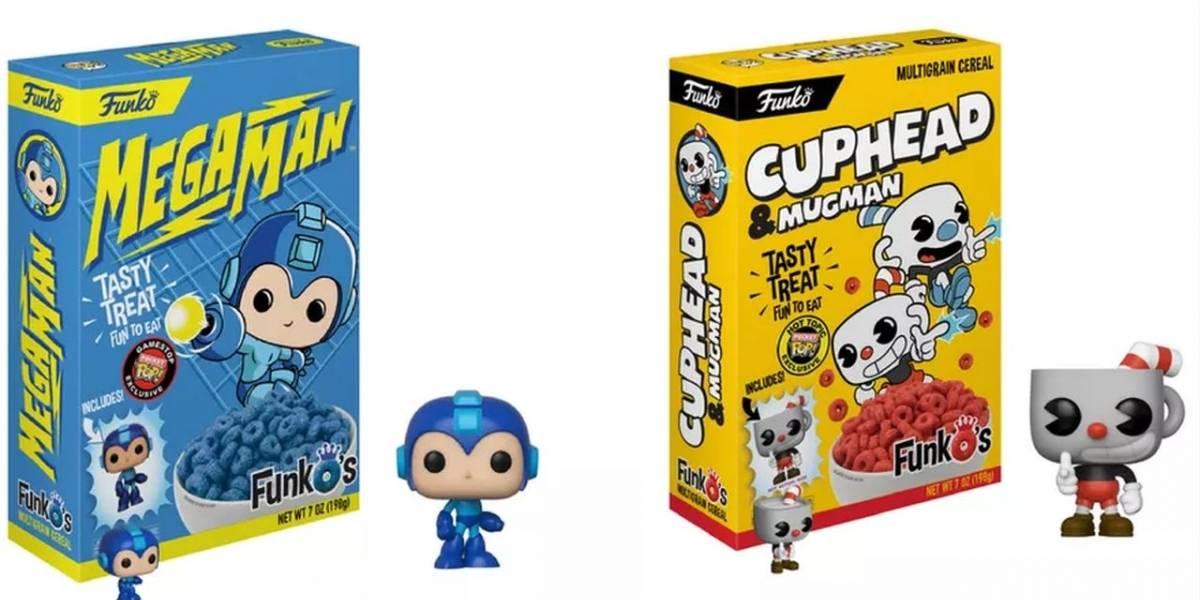 Funko anuncia cereales de Mega Man, Cuphead, Lord of the Rings y más