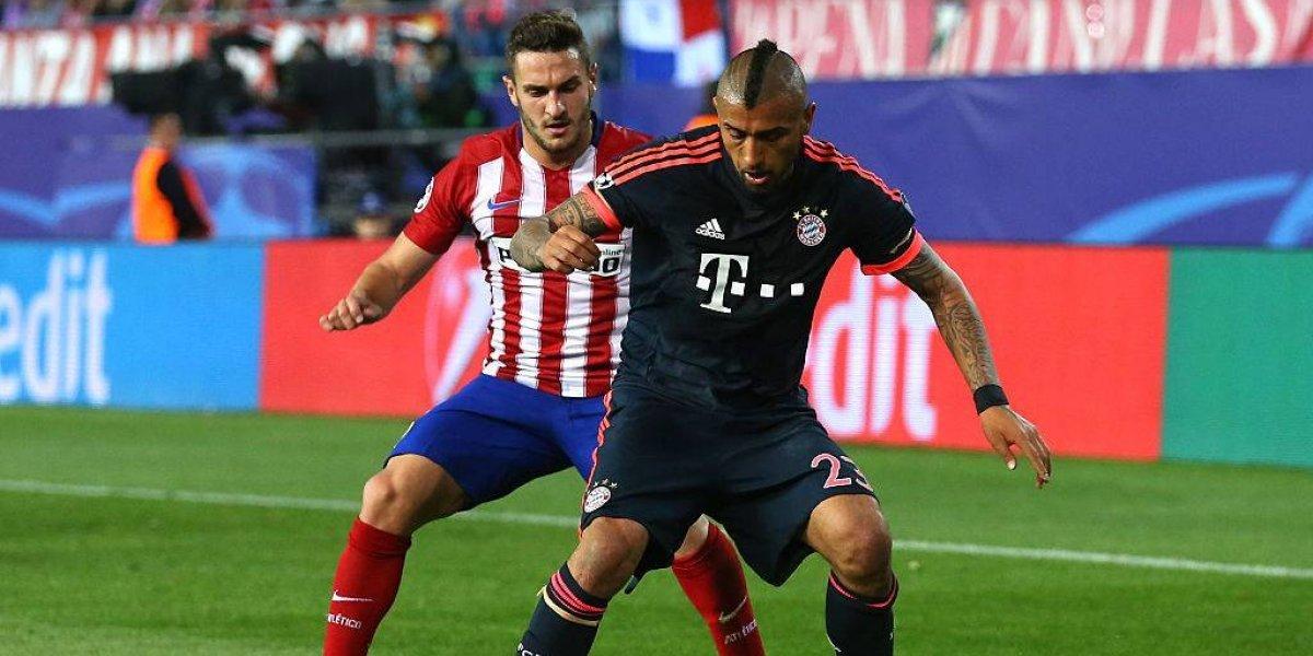 Atlético de Madrid tiene en la mira a Vidal para reemplazar a su capitán