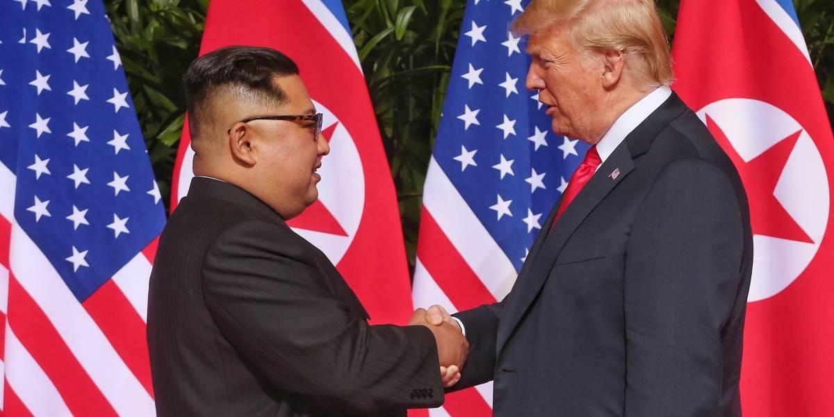 """""""Si no fuera por mí, ya estaríamos en guerra con Corea del Norte"""": Trump"""