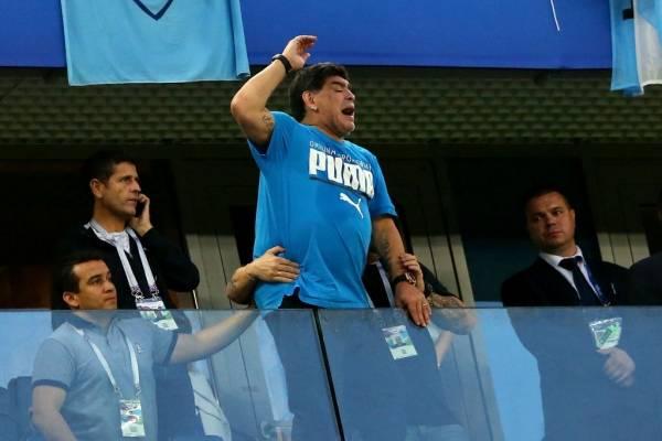Maradona fue DT de la Albiceleste entre 2008 y 2010 / Foto: Getty Images