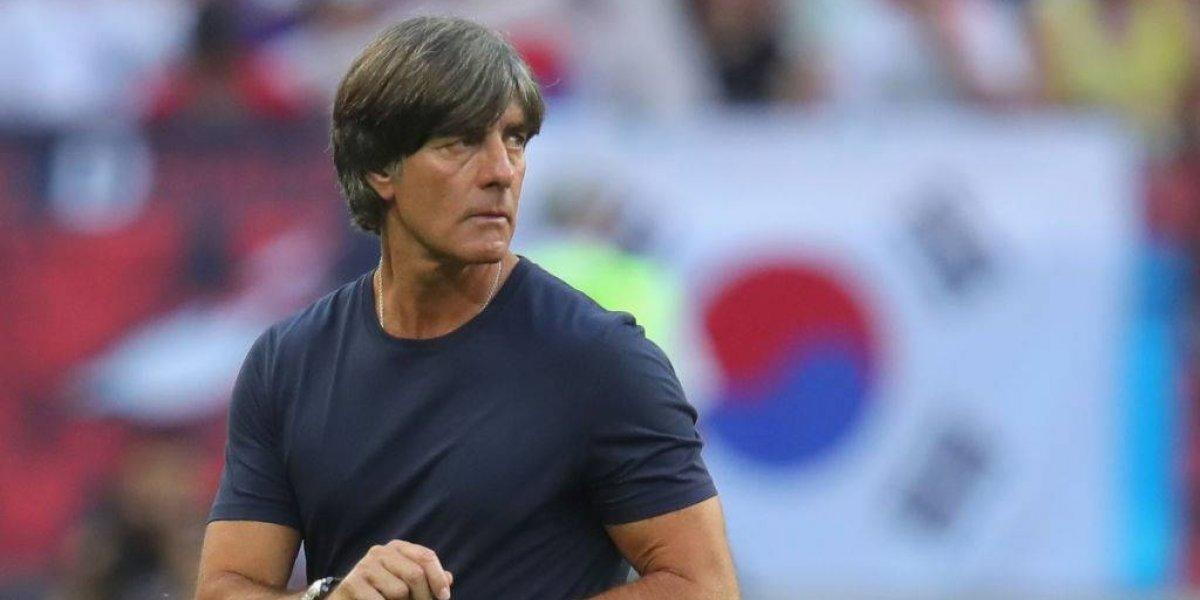 Löw seguirá al frente de Alemania pese a eliminación