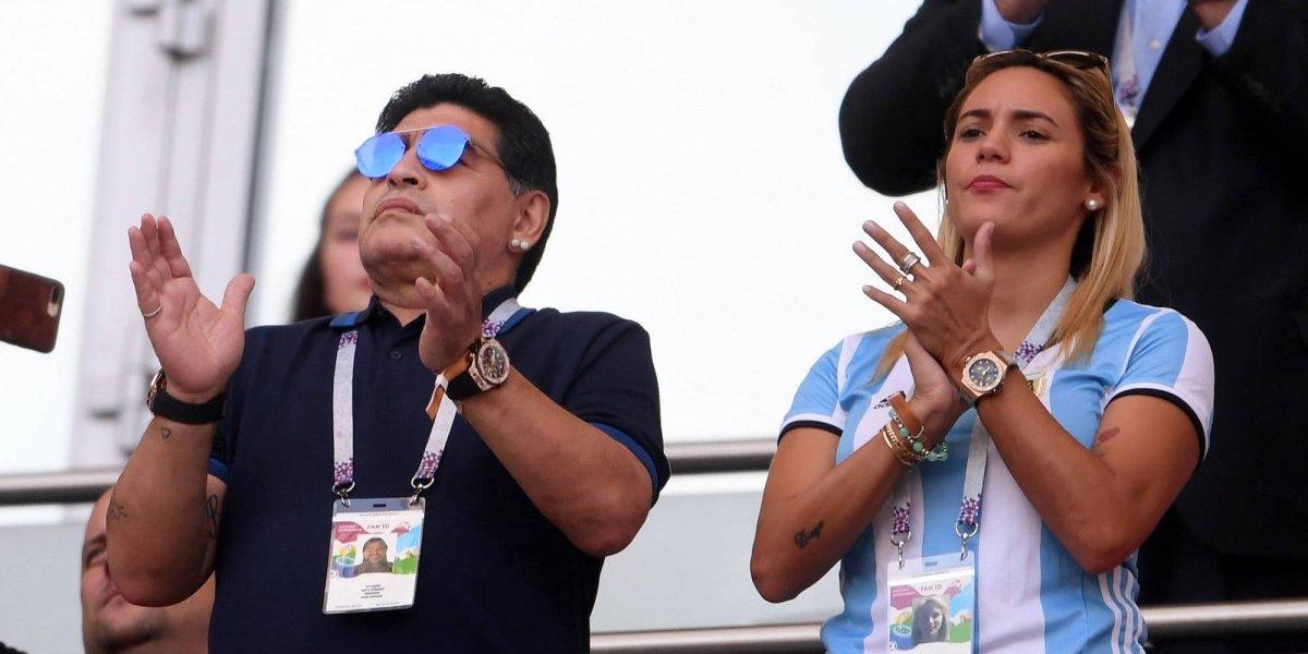 VIDEO: Maradona celebra triunfo de AMLO