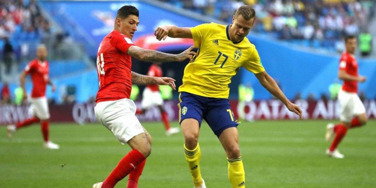 Así vivimos el gran triunfo de Suecia sobre Suiza en el Mundial de Rusia 2018