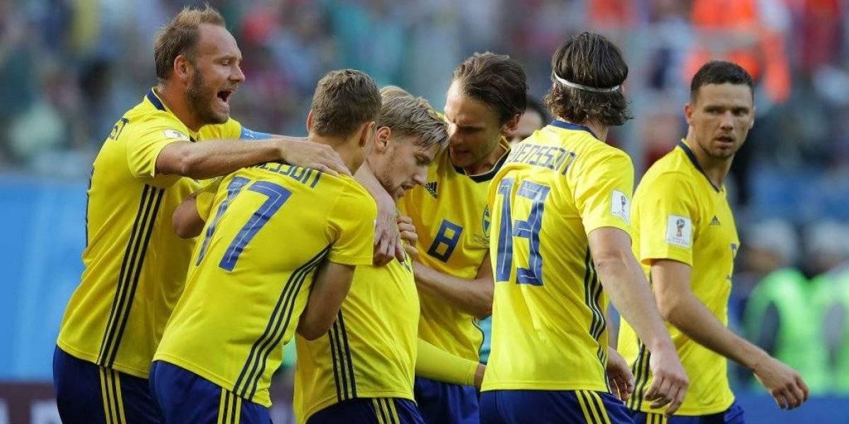 Suecia entre los ocho mejores de Rusia 2018