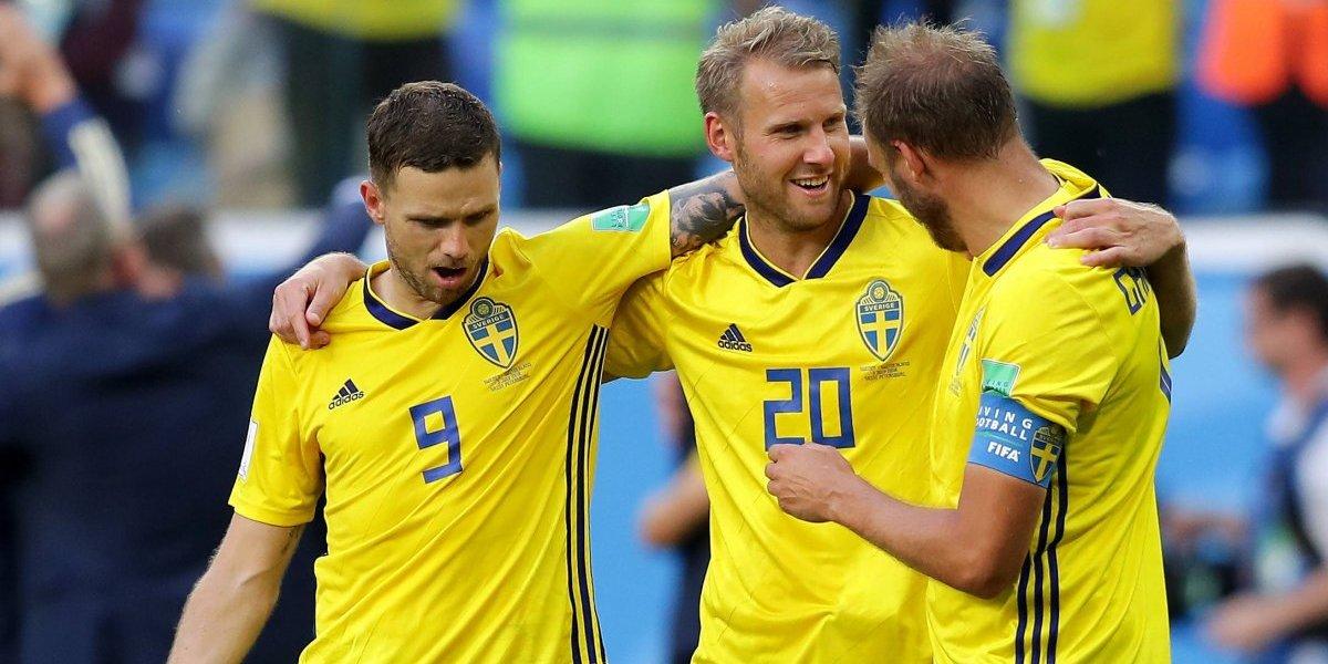 Suecia elimina a Suiza y avanza a cuartos de final