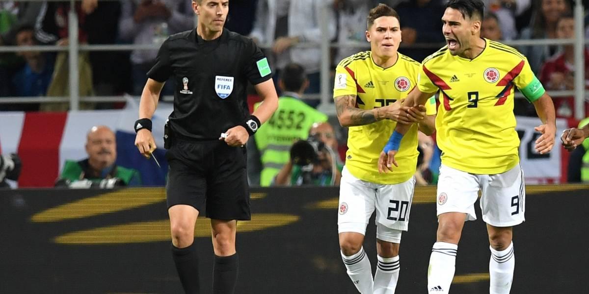 El grosero error del árbitro en el partido Colombia vs. Inglaterra