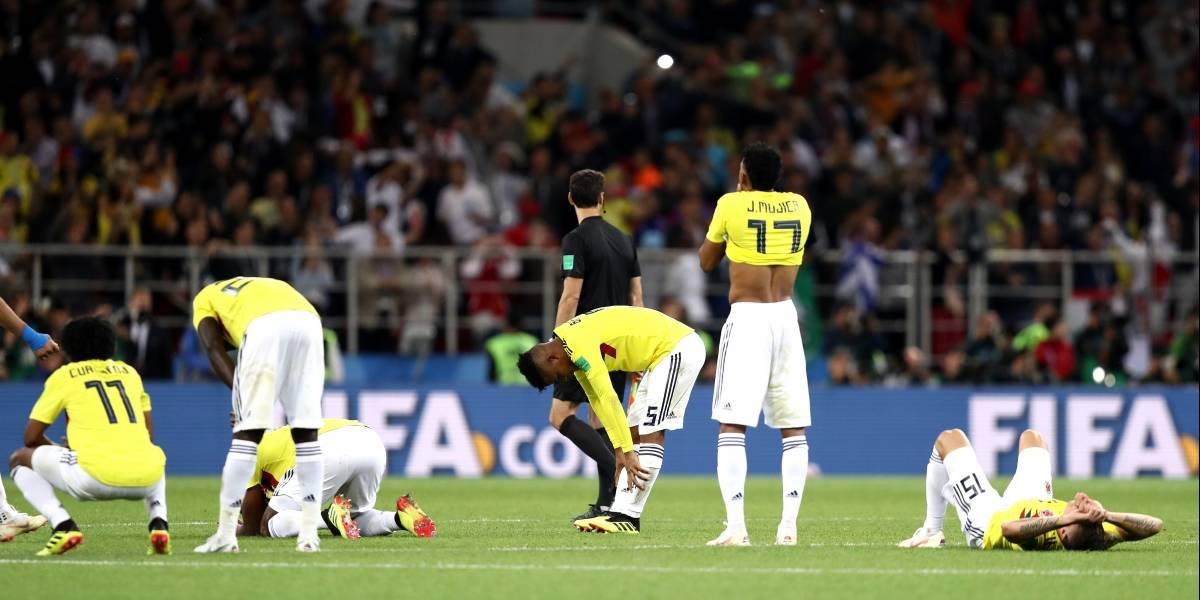 Colombia se despide del Mundial de Rusia y así están reaccionando las redes sociales