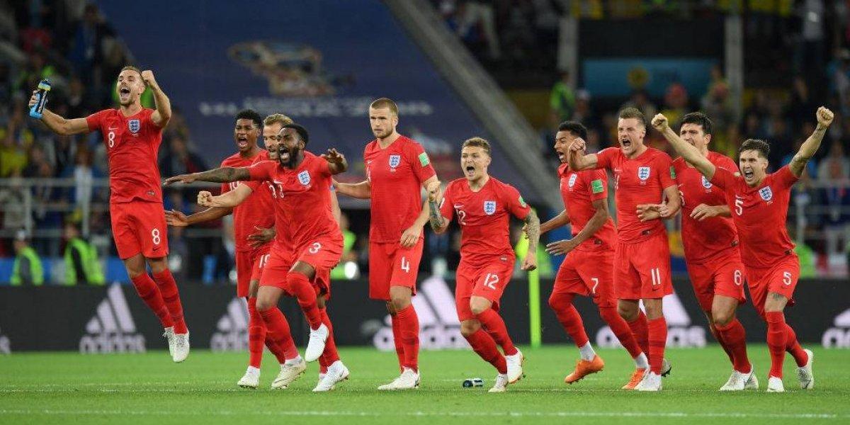 Rompió la maldición: Inglaterra volvió a ganar una tanda de penales después de 22 años