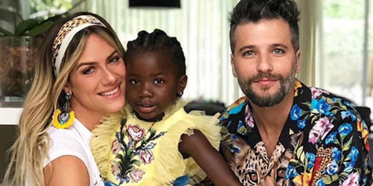 Bruno Gagliasso e Giovanna Ewbank pedem boicote a youtuber que fez comentário racista sobre Mbbapé