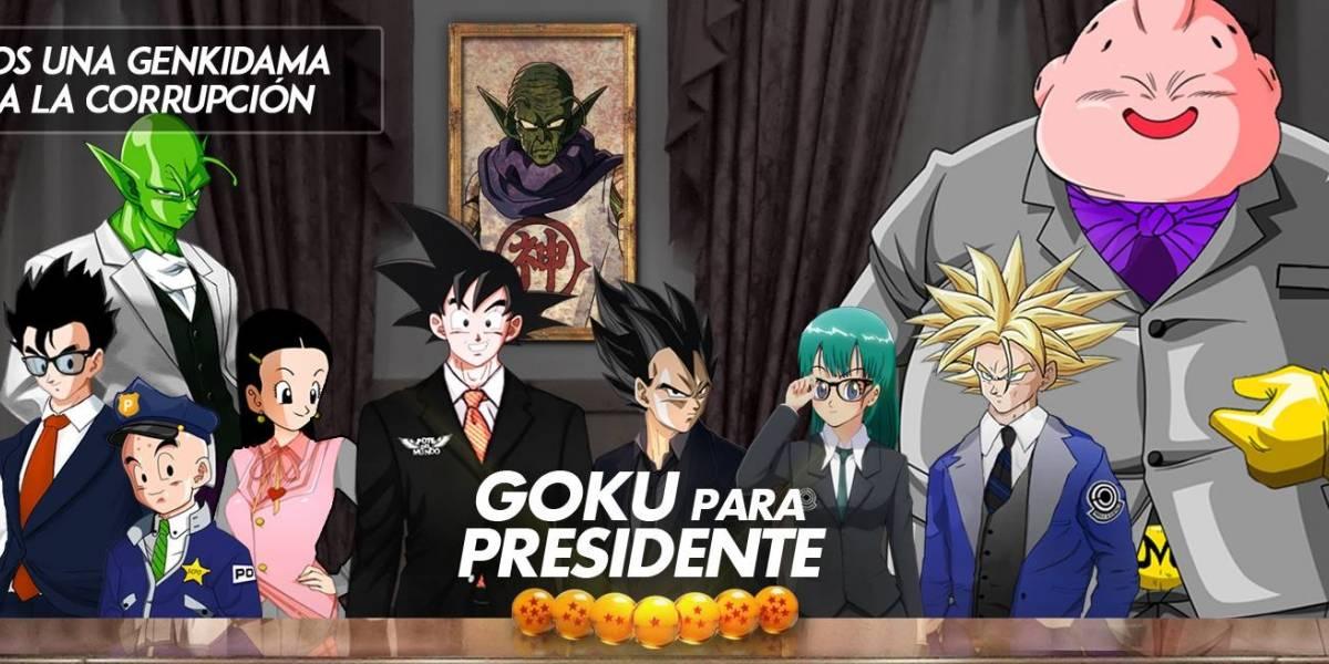 Sí, México votó también por Luis Miguel y hasta Goku