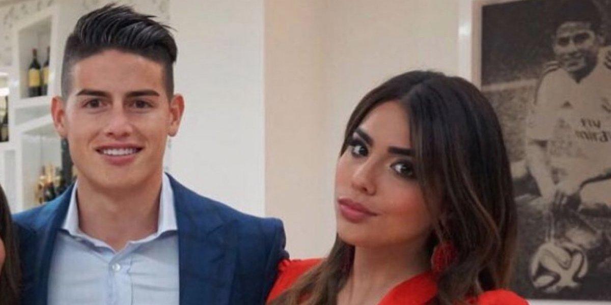 """Hermana de James confiesa que este jugador español es su """"amor platónico"""""""