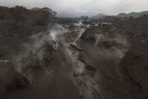 hotel La Reunión tras erupción del volcán de Fuego