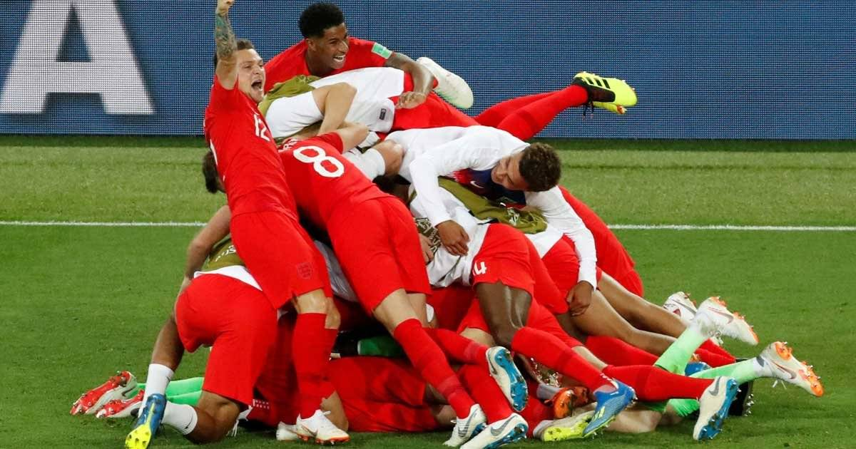 Inglaterra x Colombia