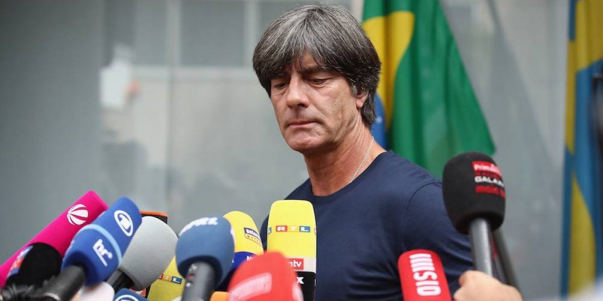 Alemania ratifica a Joachim Low como técnico pese a fracaso en el Mundial
