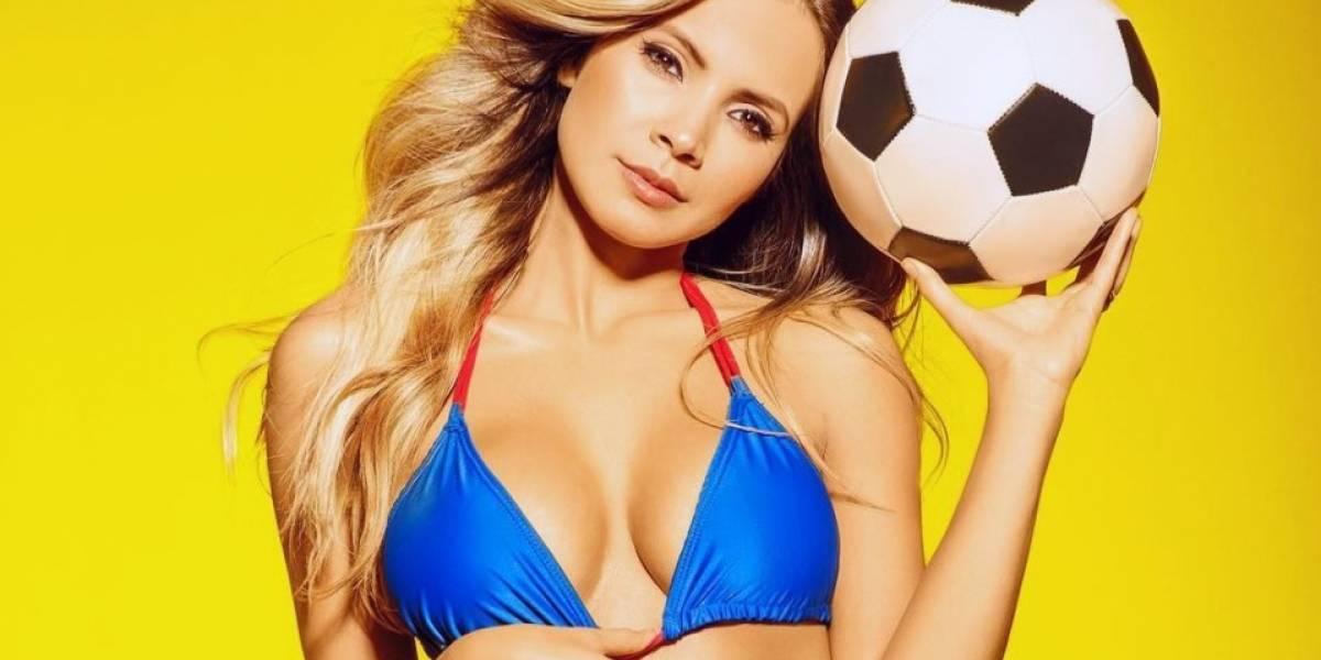 Karin Jiménez, la sexy esposa del jugador Santiago Arias de la selección de Colombia