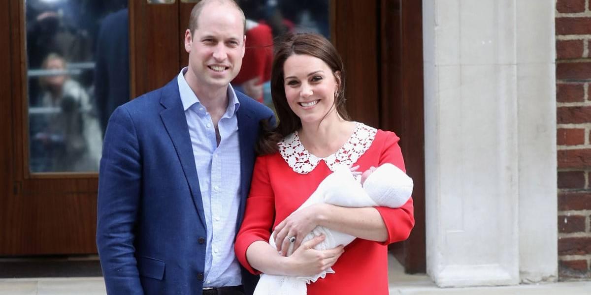 Família real: Príncipe Louis será batizado nesta segunda-feira